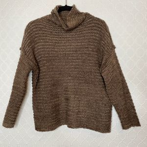 Aerie Babe Chenille Turtleneck Sweater Size XS